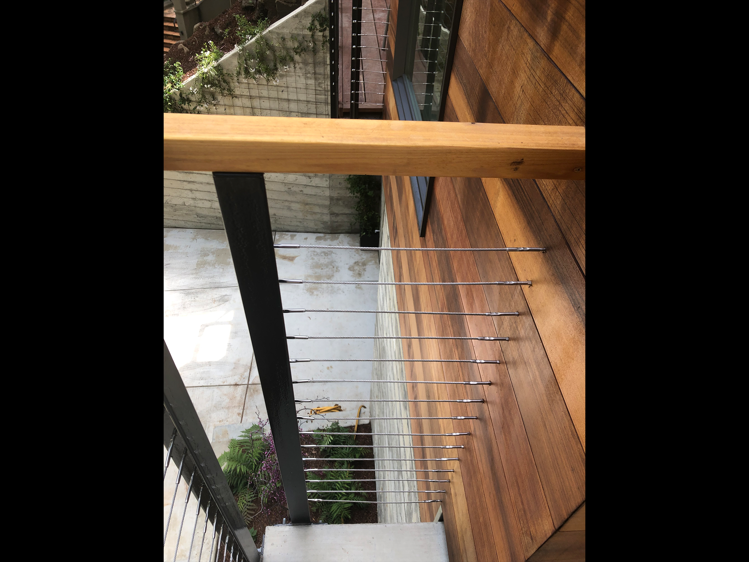 detail the turn railing